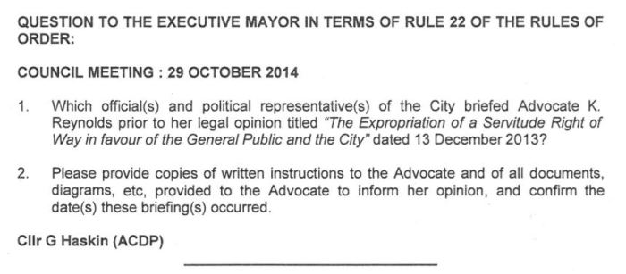Question - Adv Reynolds CTICC expropriation of servitude.JPG