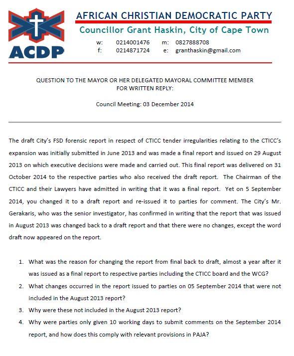 Q&A CTICC Forensic Report 1.JPG